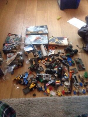 Small Mixed Lot Of Lego Star Wars Harry Potter And Figures