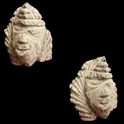 Ultra Rare Stone Age Ancient Neolithic Anthromorphic Bust 4500BC (2)