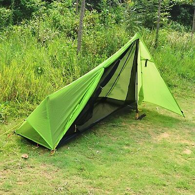Andake Ultralight Tent Waterproof 1 Person Camping Tent/Backpacking Tent, 15D