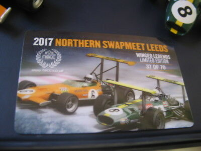 Scalextric NSCC Leeds Swapmeet Winged Legends set #37 of 70 sets C3589A BNIB