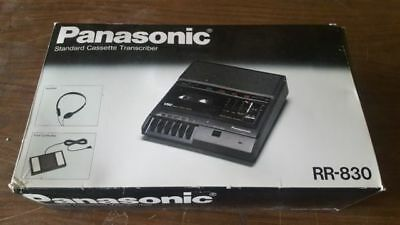 """Panasonic RR 830 Medical Transcriber NIB w/ Complete Course""- FREE SHIPPING!"