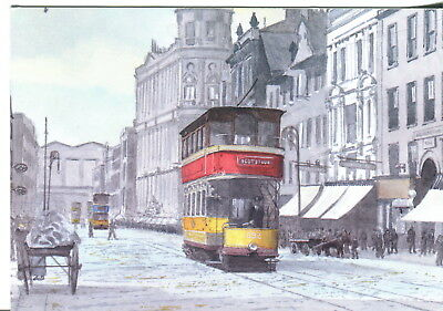 Tram 632 in Argyle Street. Uncirculated/Unused