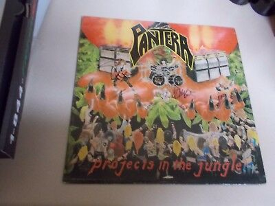 Pantera - Signed Projects In The Jungle Original 1984 LP