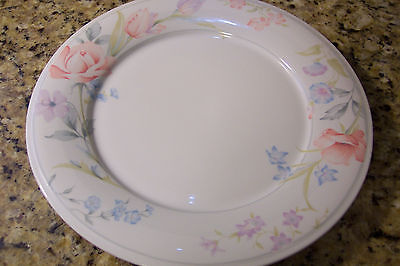 American Limoges China Flowers Pattern SERVING PLATTER ROUND