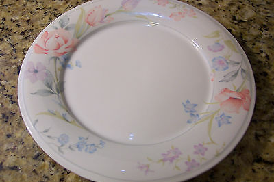 American Limoges China Flowers Pattern DINNER PLATE