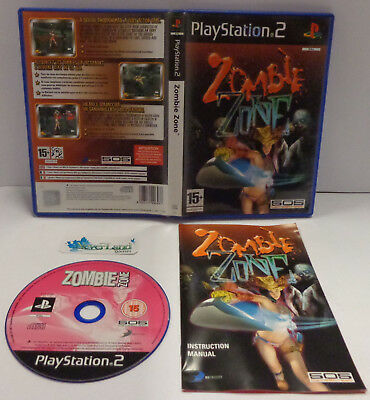 Console Game Gioco SONY Playstation 2 PS2 PAL 505 GameStreet - ZOMBIE ZONE -