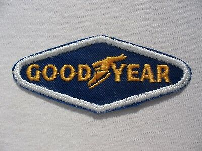 Vintage Unused GOODYEAR  TIRE  COMPANY PATCH! LOOK
