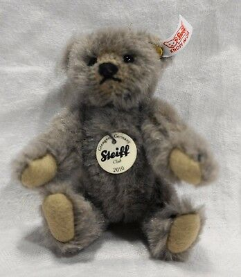 Steiff Mini Grey Alpaca Bear Club Gift Teddy Ltd Ed EAN 421129 7 CM 2010