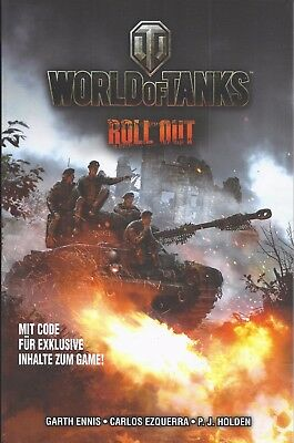 Panini Comics World of Tanks 2017 Roll out   ungelesen 1A abs. TOP