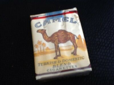 "Ancien paquet de cigarette Plein"" Camel ""collection uniquement"