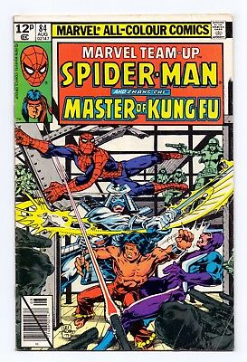Marvel Team-Up #84 - Spider-Man/Shang-Chi Master Of Kung Fu