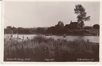 RP P/C  WALKERITH FERRY, EAST STOCKWITH, LINCOLNSHIRE, c1920