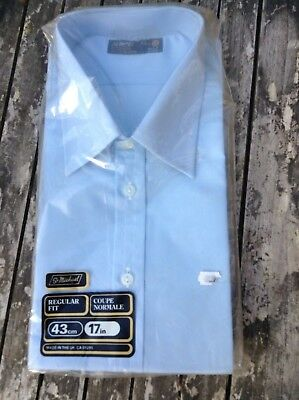 vintage St Michael Blue mens shirt in packaging