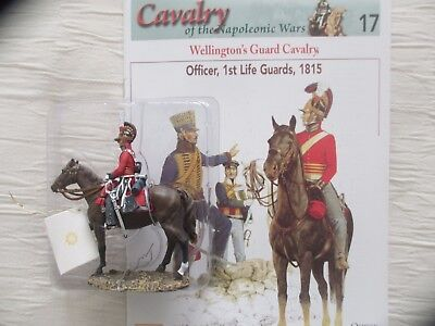 DEL PRADO CAVALRY OF THE NAPOLEONIC WARS: OFFICER, 1st LIFE GUARDS 1815 + MAG 17
