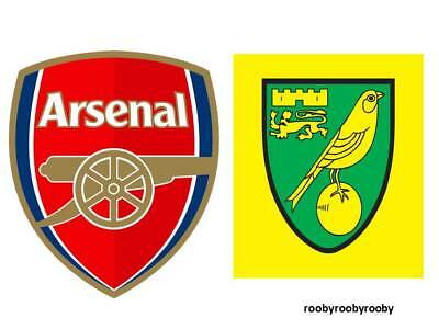 2017/2018 Arsenal Norwich Cup MINT Programme + Teamsheet 24th October 2017