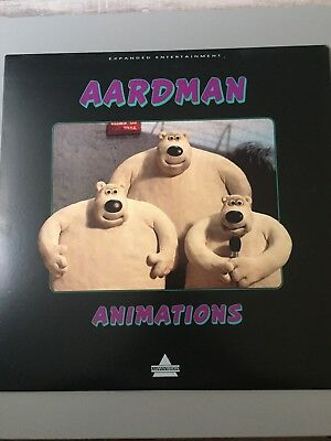 Aardman Animations Laser Disc