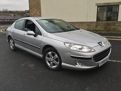 2009 Peugeot 407 2.0 Hdi Manual Silver Great Spec Climate Control