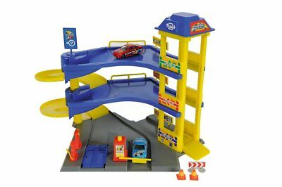 Brand New Dickie Toys Parking Station-Cars Garage