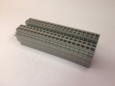 Wago 281-601 2-Conductor Through Terminal Blocks, Lot of 20, New