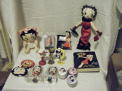 Betty Boop Collectibles Lot of Special Merchandise - figurines, dolls, misc