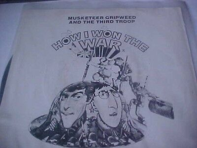 john lennon rare single musketeer gripweed and third troop how i won the war