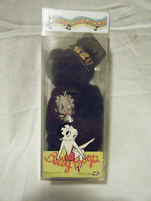 Vintage Betty Boop Beanie Baby Black Limited Edition 4319/10,000 King Features