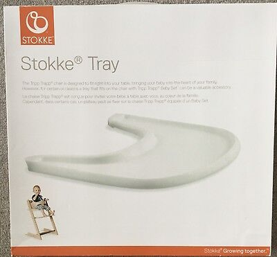 Official Stokke Tripp Trapp Tray (White)