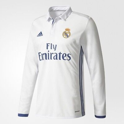 Real Madrid 16/17 home shirt (long sleeve) Men's large - BNWT