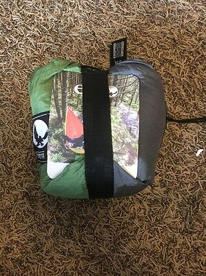Eno Double Nest Hammock Lime Charcoal Brand New!!