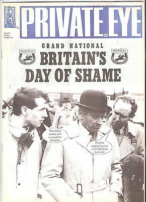 Private Eye Magazine # 817 9 April 1993 Martell Grand National Aintree Liverpool