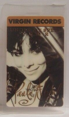 Paula Abdul - Original Concert Tour Laminate Backstage Pass  ***last One***