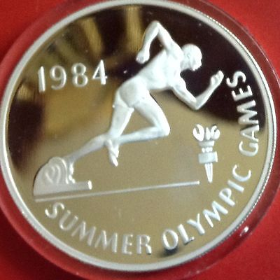 Jamaica 1984 Silver Proof 10 Dollar
