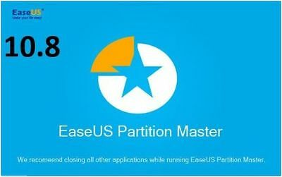 EaseUS Partition Master Professional Lifetime License Disk Management Windows