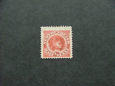 Newfoundland 1887 1/2c rose-red SG49 MM