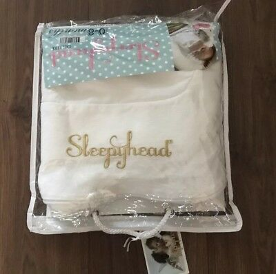 Sleepyhead Deluxe Spare Cover White - 3 Available