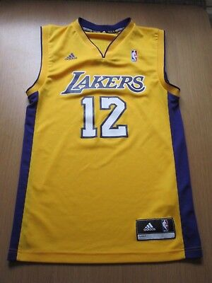Adidas Lakers NBA Basketball Top Jersey Shirt Howard XS pit to pit 18""