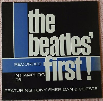 THE BEATLES FIRST! * RECORDED IN HAMBURG 1961 - MADE IN SPAIN LP editado 1988