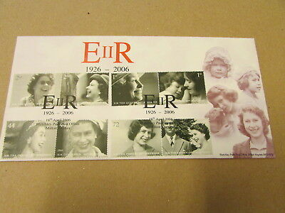 E 2 R - 1926 TO 2006 - BLETCHLEY PARK COVER - QUEENS 80th - LTD 74 OF 500