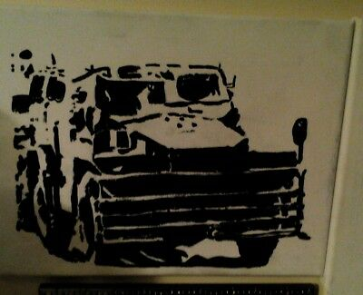 Royal Corps of Transport canvas painting