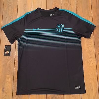 Maillot FC Barcelone Junior  BARCA FCB Y TOP SS SQD C Taille XL 13/15 Ans /Neuf