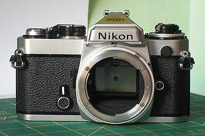 Nikon FE Film tested with new seals & batteries NICE