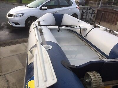 Inflatable Dinghy 6hp with trailerm mm