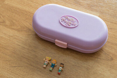 Polly pocket Tampon stampin school personnage 1992 Bluebird