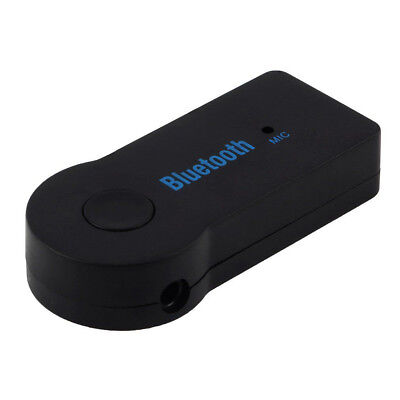 FP 5x Wireless Car Audio Receiver Bluetooth 3.5mm AUX Stereo Music Adapter wite