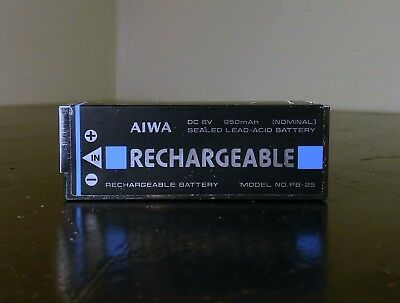 Aiwa PB-25 Rechargable battery for Aiwa HD-S1 tape recorder