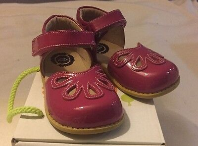 Nib Livie And Luca Petal Toddler/little Girl Shoes-Fuchsia--Size 6