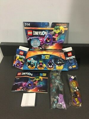 Lego Dimensions Teen Titans Go! Team pack 71255 COMPLETE With Box