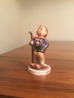 "Vintage Hummel Goebel Figurine 'Little Hiker"" A/F"