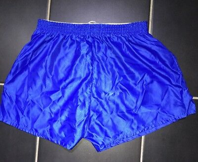 Nylon Glanz Shorts Sprinter FootBall Vintage Gym Swim Sexy Retro Running Unlined