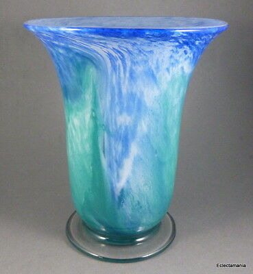 Scarce GRAY-STAN British Art Glass Vase C1930